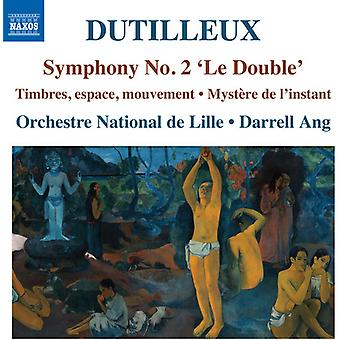 Dutilleux / Rivalland / Orchestre National De - Henri Dutilleux: Symfoni nr 2 Le dubbel [CD] USA import