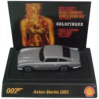 Shell James Bond 007 Collectible 1:64th Scale Aston Martin DB5 By Shell