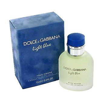 Dolce & Gabbana lys blå Eau de Toilette 75ml EDT Spray