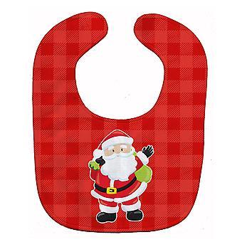 Carolines Treasures  BB9017BIB Christmas Santa Claus Baby Bib