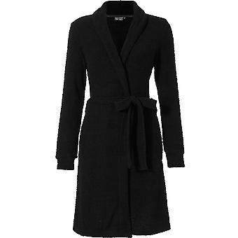 Pastunette 7072-304-1-999 vrouwen Luxe zwarte gewaad Lounge Bath badjas
