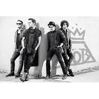 Fall Out Boy Street Corner Poster Poster Print