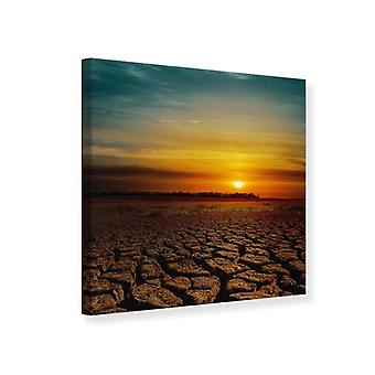 Canvas Print Africa Drought