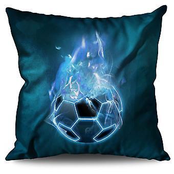 Devil Sport Football Linen Cushion Devil Sport Football | Wellcoda