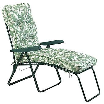 Glendale Cotswold Leaf Cushioned Lounger Chair