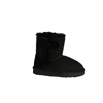 Eastern Counties Leather Childrens/Kids Coco Bow Detail Sheepskin Boots
