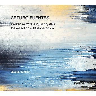 Fuentes / Diotima - brudt spejle [CD] USA import