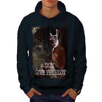 Sir Fakalot Beast Animal Men NavyHoodie | Wellcoda