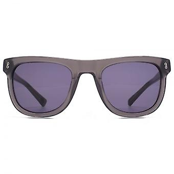 Hook LDN Latitude Chunky Retro Acetate Sunglasses In Grey