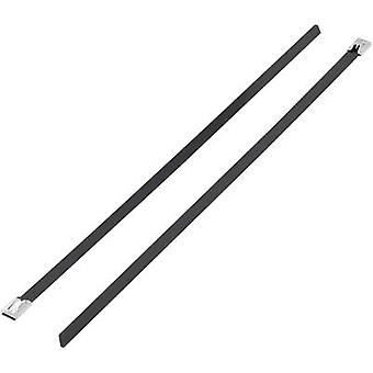 Cable tie 679 mm Black Coated KSS 1091256