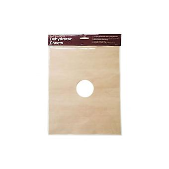 Andrew James Set Of 6 Flexible Sheets For Rectangle Dehydrator