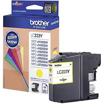 Brother Ink LC-223Y opprinnelige gule LC223Y