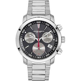 Abeler & sons men's watch business A & S chronograph 2693 M