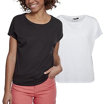 Stedelijke klassiekers dames - BASIC drop schouder oversized shirt