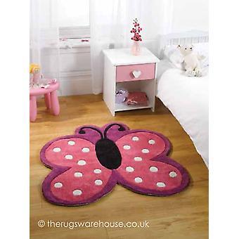 Polka Butterfly tapijt