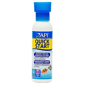 API Quick Start 118 ml (Fish , Maintenance , Water Maintenance)