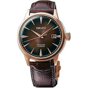 Seiko mens watch presage automatic of new cocktail time SRPB46J1