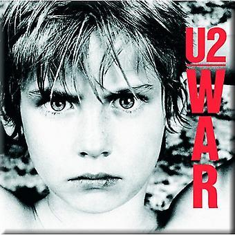 U2 Fridge Magnet War boy new Official 76mm x 76mm