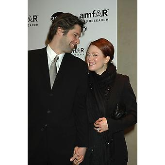 Bart Freudlich Julianna Moore At Arrivals For Benefit For Amfar And Acria In Honor Of Herb Ritts SothebyS New York Ny February 02 2005 Photo By Rob RichEverett Collection Celebrity