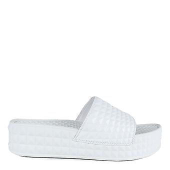 Ash SCREAM Studded Chunky Soled Sandals White