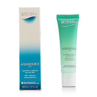 Biotherm Aquasource 48H Continuous Release Hydration Gel - For Normal/ Combination Skin 30ml/1.01oz