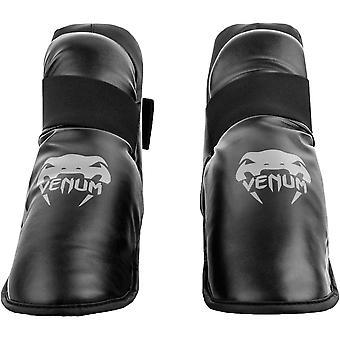 Venum Challenger lätt Slip-On krok och ögla fot växel - svart/grå
