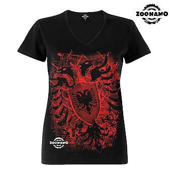 Zoonamo T-Shirt ladies classic for Albania