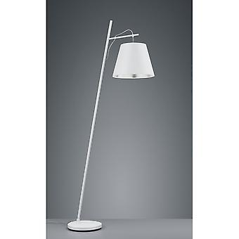 Trio Lighting Andreus Modern White Matt Metal Floor Lamp