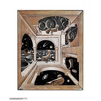 Another World Poster Print by MC Escher (22 x 26)