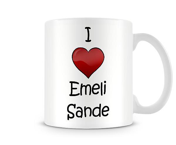 I Love Emeli Sande Printed Mug