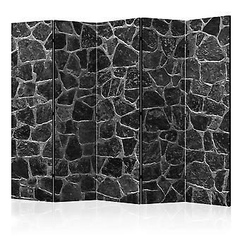 Room Divider - Black Stones II [Room Dividers]