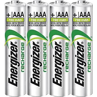Energizador Power Plus HR03 AAA batería (recargable) NiMH 700 mAh 1.2 V 4 PC