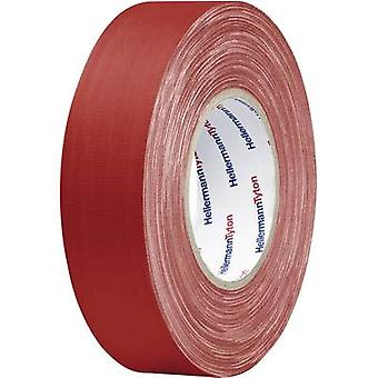 HellermannTyton 712-00901 Cloth tape HelaTape Tex Red (L x W) 50 m x 50 mm 1 Rolls