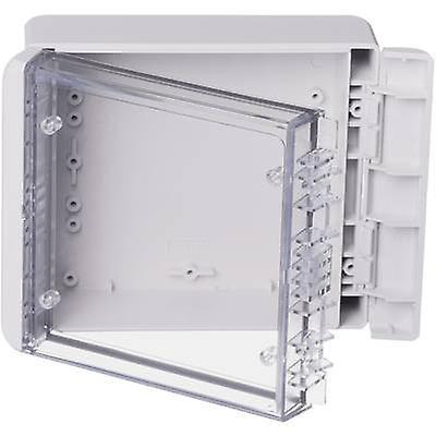 Bopla Bocube B 141306 PC-V0-G-7035 Wall-mount enclosure, Build-in casing 125 x 151 x 60 Polycarbonate (PC) Light grey (RAL 7035) 1 pc(s)