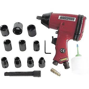 Sostenedor de herramienta de impacto neumático driver: cuadrado macho de 1/2 (12.5 mm) Torque (máximo): 320 Nm