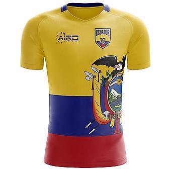 2018-2019 إكوادور مفهوم الوطن القميص لكرة القدم