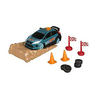 Road Rippers 21200 Rally Stunt Playset Ford Car, Ramp & Accessories New