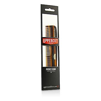 Uppercut Deluxe CT5 Pocket Comb - # Tortoise Shell Brown 1pc