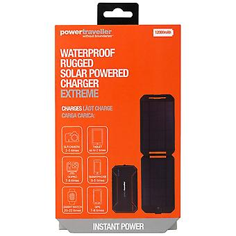 Powertraveller PTL-EXT001 Extreme Waterproof Rugged Solar Powered Charger 12000mAH