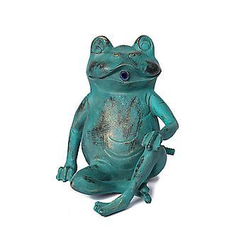 Frog, fountain for the garden 21x18x20 cm