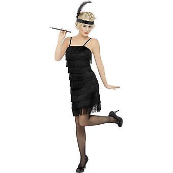 Fringe Flapper Costume, UK Dress 20-22