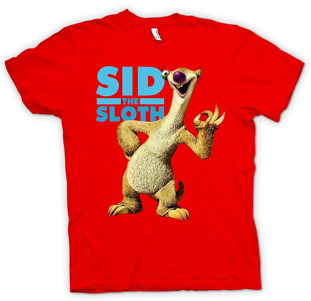 Mens t-skjorte - is alder - Sid Sloth