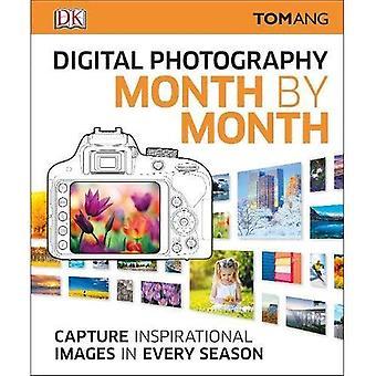 Digital fotografering månad för månad