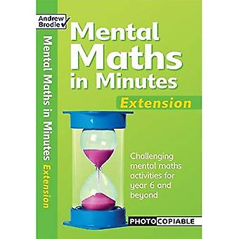 Mental Maths in Minutes: Extentsion (Mental Maths in Minutes)