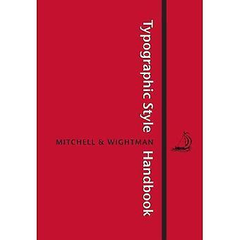 Typografischen Stil-Handbuch