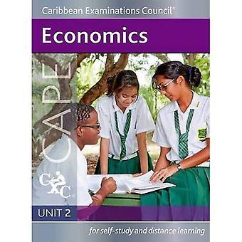 Nationalekonomi CAPE enhet 2 en karibisk undersökningar rådets studie Guide