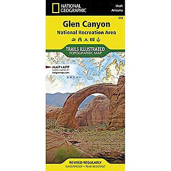 Glen Canyon NRA Capitol Reef National Park Arizona: NG.NP.213 (National Geographic Trails Illustrated Map)