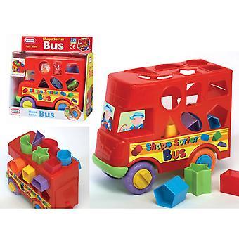 Amusant en poussant le long de trieur de forme de Bus