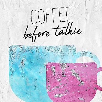 Coffee  Days 5 Poster Print by Allen Kimberly