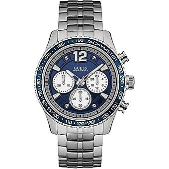 Guess men's Chronograph Watch quartz men with stainless steel strap W0969G1